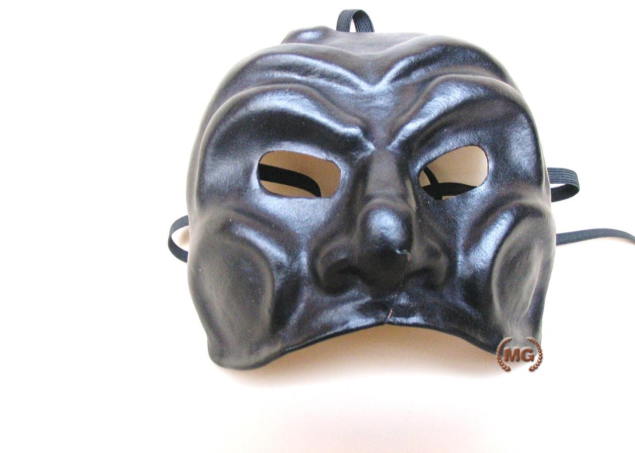 Maschera in cuoio di pulcinella 17598e10eaff