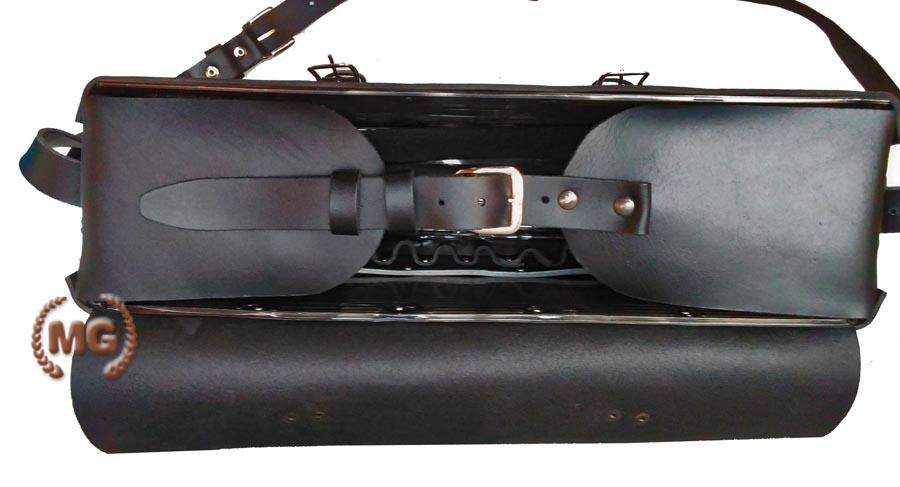 d1e0e90390 Borsa professionale in cuoio rigida porta attrezzi da lavoro Made in Italy
