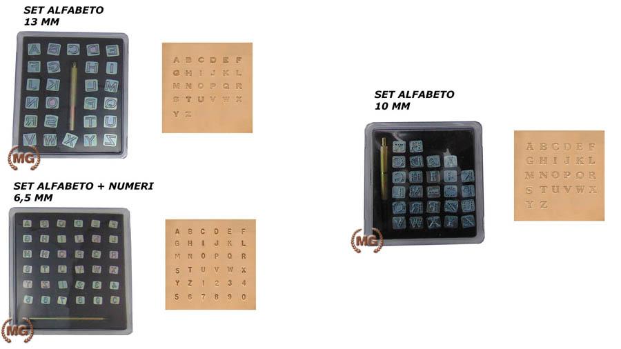 kit di bulini per carving lettere e numeri