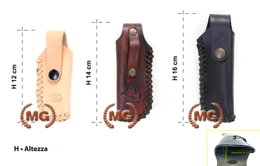 Foderi coltelli personalizzati