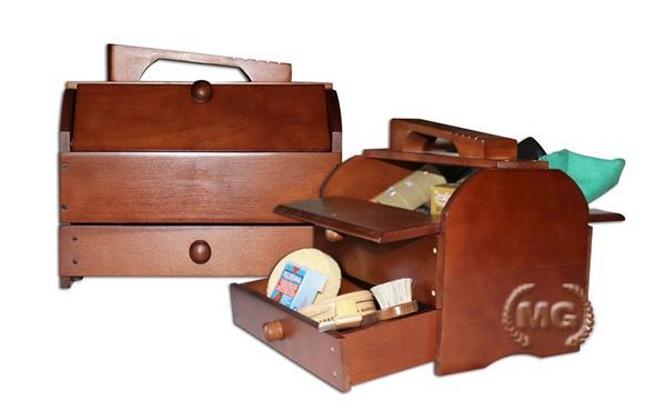 Cassetta porta accessori calzolaio