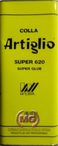 Latta di colla wilbra artiglio super 620 confezione da 5 kg