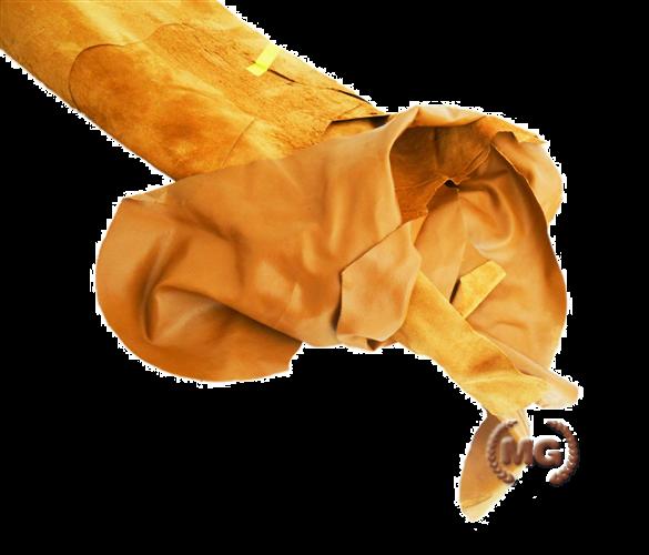 Croste di cuoio nappate