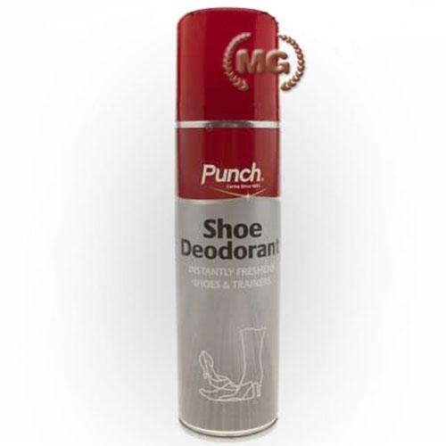 deodorante spray Punch per calzature all'aroma di limone
