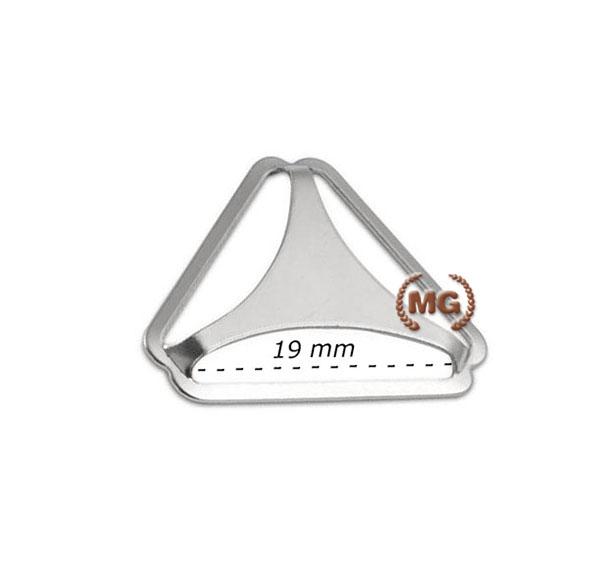 dorsale in metallo per bretelle