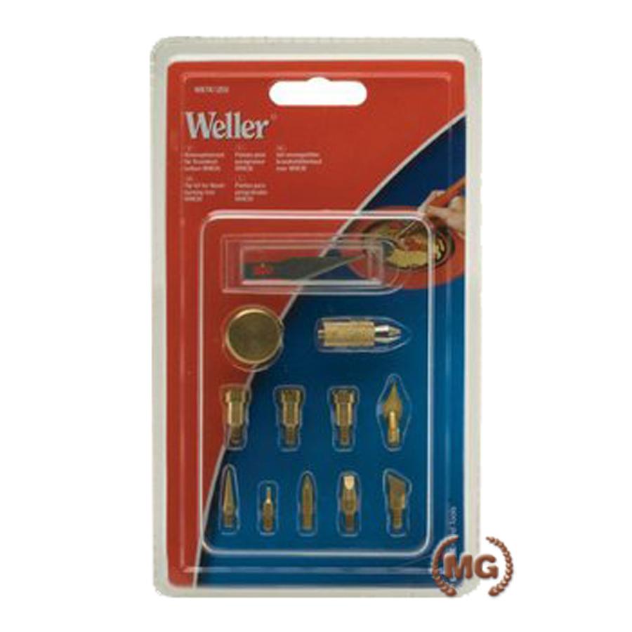 Set punte intercambiabili pirografo professionale Weller da 30 W