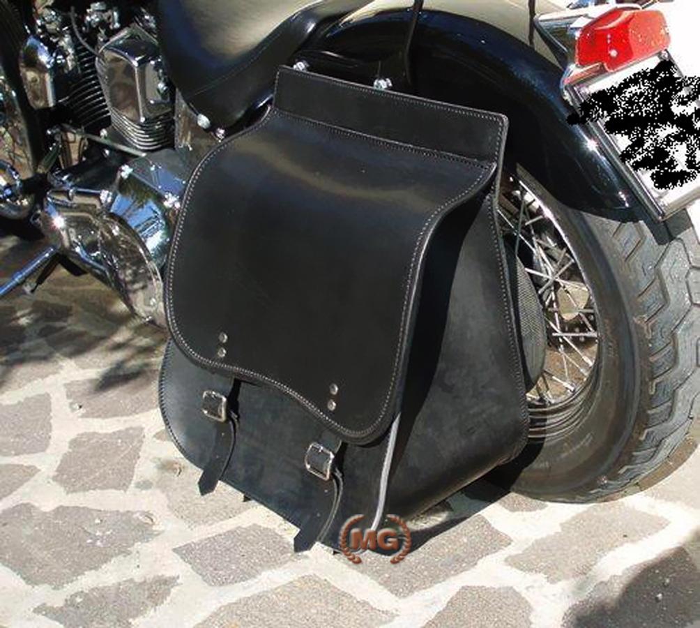 Mono borsa in cuoio per moto 44f907f1f17