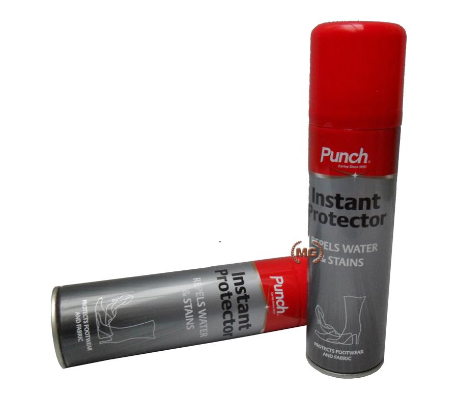 Spray impermeabilizzante waterproof Punch per pelli lisce, camosciate e nabuk