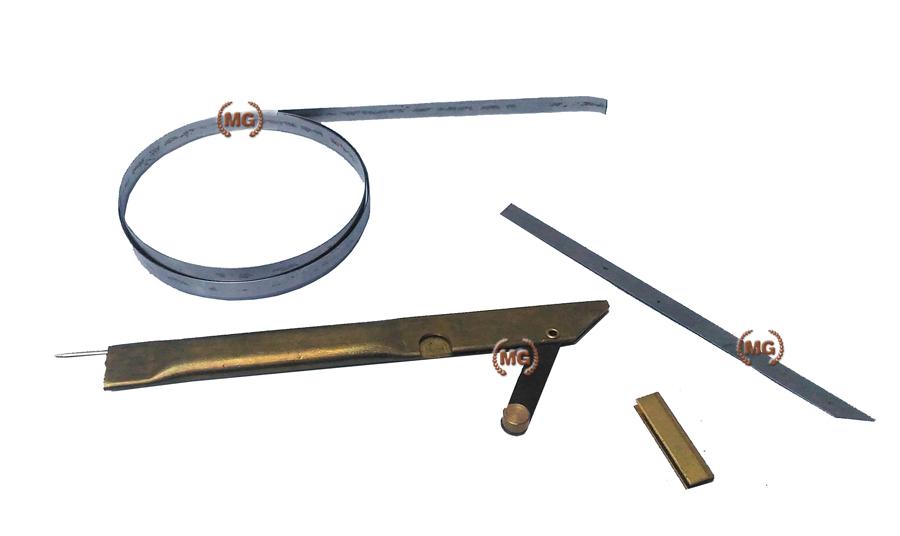 lame di ricambio in acciaio per portalame 7,5 mm rullino da 1 metro