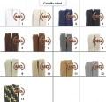 Lacci cotone a fettuccia in vari colori made in italy