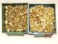 Set confezioni rivetti colore oro