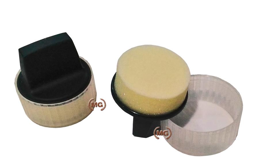 Set spandi lucido collonil con spugnetta per distribuire la crema o lucido sulle scarpe